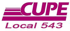 CUPE Local 543 R