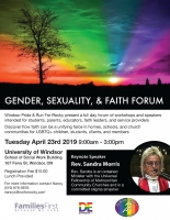 Gender, Sexuality and Faith Forum
