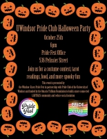 UWindsor Pride Club Halloween Party