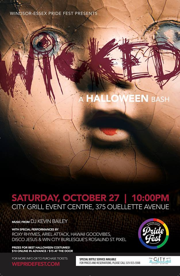WICKED: A HALLOWEEN BASH-Programs & Events