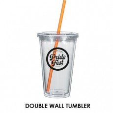 Pride Fest 16oz Double Wall Tumbler